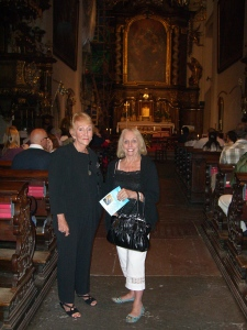 Church concert in Prague-Aug. 2011 with Dr. Dorothy Sisk and Dr. Edna McMillan (1937-2012)